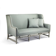 Aubert Sofa - Sage Linen and Birch