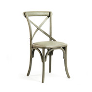 Parisienne Cafe Chair - Faux Olive Green