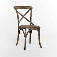 Parisienne Cafe Chair - Limed Charcoal Oak