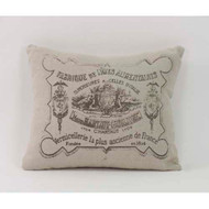 Throw Pillow - French Pillow Pattern 9 20x20
