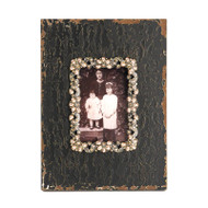 Black Wooden Photo Frame