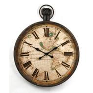 Antique Pocket Watch Clock