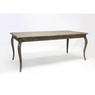 Vineyard Oak Dining Table - Limed Charcoal Oak