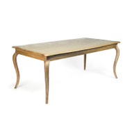 Vineyard Oak Dining Table - Limed Grey Oak
