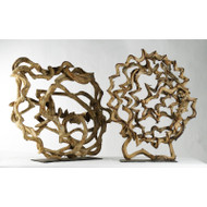 Round Vine Sculpture