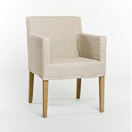 Avignon Slipcover Arm Chair