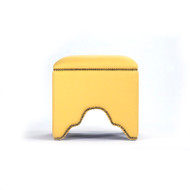 Willem Cubic Stool - Yellow