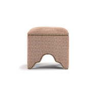 Willem Cubic Stool - Khaki or Beige