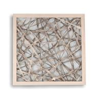 Abstract Paper Framed Art Iii