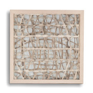 Absract Paper Framed Art Iv