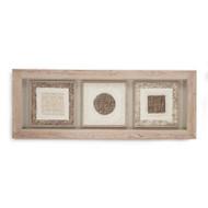 Abstract Paper Framed Art Viii