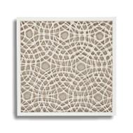 Abstract Paper Framed Art X