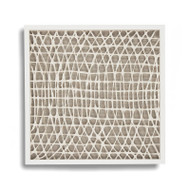 Abstract Paper Framed Art Xi