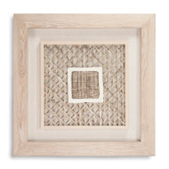 Abstract Paper Framed Art Xii - Square