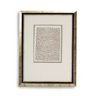 Abstract Paper Framed Art Xv