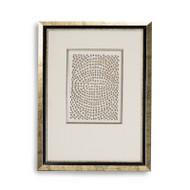 Abstract Paper Framed Art Xv