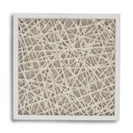 Abstract Paper Framed Art Xvii
