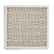 Abstract Paper Framed Art Xviii