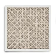 Abstract Paper Framed Art Xix
