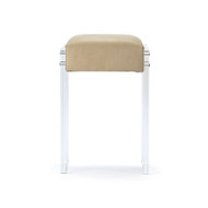 Acrylic Counter Stool - Sand Jaguar