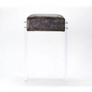 Acrylic Counter Stool - Silver Cosmic