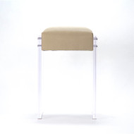 Acrylic Counter Stool - Beige Cascade