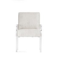 Arcylic Arm Chair