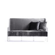Acrylic Sofa - Dark