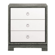 Berkeley 3-Drawer Side Table https://cdn3.bigcommerce.com/s-nzzxy311bx/product_images//w/ Chrome Pulls, Gray