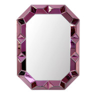 Romano Wall Mirror, Purple
