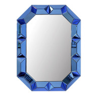 Romano Wall Mirror, Blue