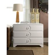 Savoy Medium 3-Drawer, White