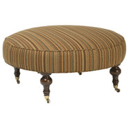 """Chisolm Large 41"""" Round Ottoman"""