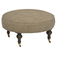 """Chisolm Large 35"""" Round Ottoman"""