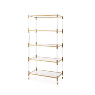 Havenhurst Shelving - Antique Gold