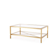 Gardner Cocktail Table - Antique Gold
