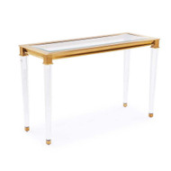 Presley Console Table - Antique Gold