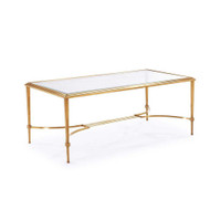 Sophia Cocktail Table - Antique Gold
