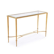 Sophia Console Table - Antique Gold