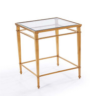 Audrey Side Table - Antique Gold