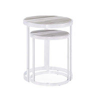 Soho Nesting Tables - White