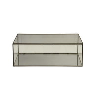 Rectangular Clear Glass Box
