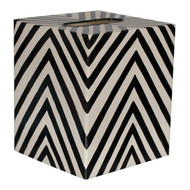 Kleenex Box Black And Cream Zebra