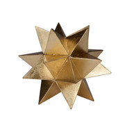 Cosmo Large Moroccan Style Star In Gold Leaf