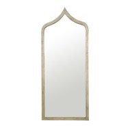 Adina Leaf Iron Moroccan Mirror Extra Long