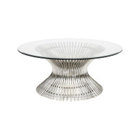 Powell Polished Stainless Coffee Table Base