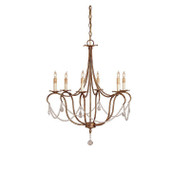 Crystal Light Chandelier, Small