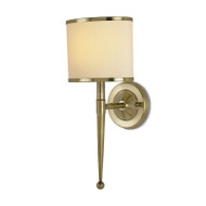Primo Wall Sconce - Cream Shade
