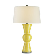 Upbeat Table Lamp, Yellow