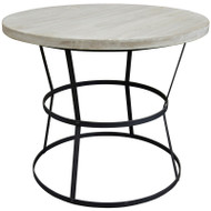 Brookfield Side Table - Rl Top - Large
